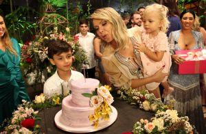 Filhos de Eliana, Arthur e Manuela 'invadem' gravação de festa surpresa para mãe