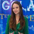 Larissa Manoela participou da pré-estreia do filme 'O Reino Gelado: A Terra dos Espelhos'