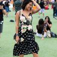 Poá e floral: duas estampas que deixam o vestido midi ainda mais romântico!