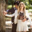 Megan (Isabelle Drummond) se sente atraída por Arthur (Dudu Azevedo) em 'Geração Brasil'