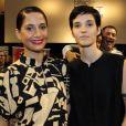 Camila Pintaga leva namorada, Beatriz Coelho, à pré-estreia do filme ' Uma garota chamada Marina', no Estação Net Gávea, zona sul do Rio de Janeiro, na noite desta segunda-feira, 02 de dezembro de 2019