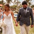 Sorocaba e Biah Rodrigues se casaram na fazenda do cantor no interior de SP