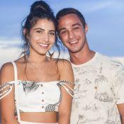 André Luiz Frambach comemora 1º Natal com Rayssa Bratillieri: 'Fiquei tão feliz'