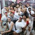 Viviane Araujo cai no samba em ensaio do Salgueiro com affair, Guilherme Militão, no Rio de Janeiro, neste sábado, 28 de dezembro de 2019