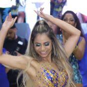 Lexa brilha com transparência e canta samba em festa da Unidos da Tijuca. Fotos!