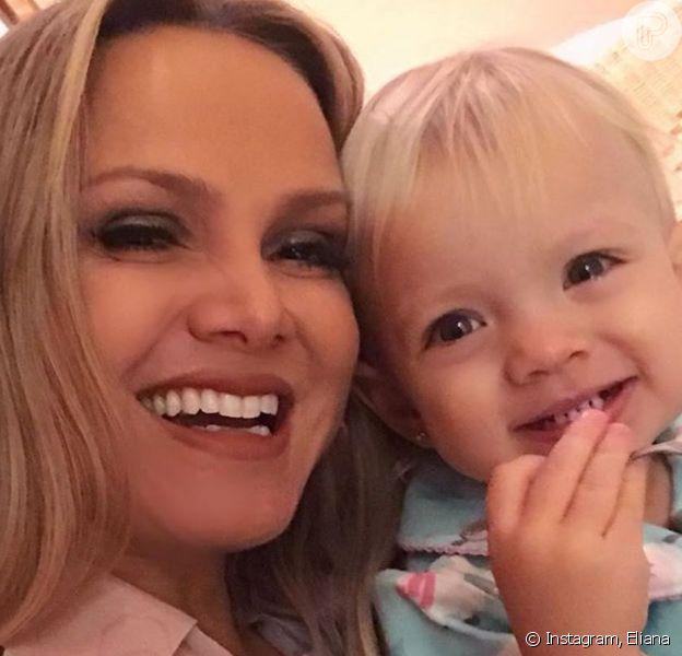 Eliana posta vídeo da filha, Manuela, rezando Pai-Nosso nesta segunda-feira, dia 06 de janeiro de 2019