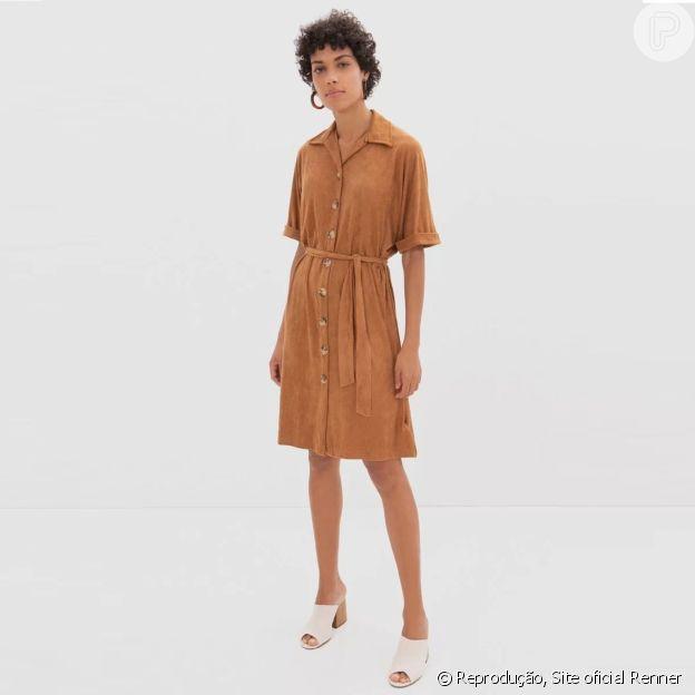 Vestido Renner na cor trend é versátil