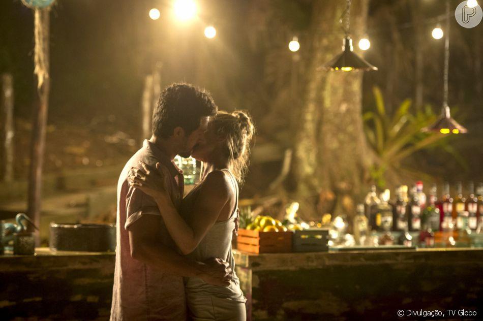 No último capítulo da novela 'Bom Sucesso', Marcos (Romulo Estrela) e Paloma (Grazi Massafera) têm final feliz