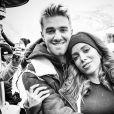 Anitta e o DJ apontado como seu novo affair, Drew Taggart, compartilharam fotos juntos no Instagram