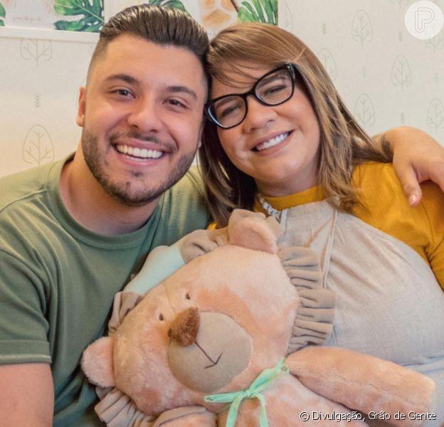 Léo grifado: filho de Marília Mendonça e Murilo Huff usa look Gucci neste domingo, dia 26 de janeiro de 2020