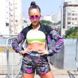 Sabrina Sato  redobrou os cuidados com a alimentação e voltou à rotina de treinos