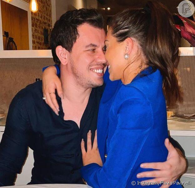Flavia Pavanelli é pedida em casamento neste domingo, dia 02 de fevereiro de 2020