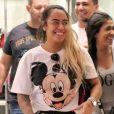 Rafaella Santos está viajando com a família por Paris, na França