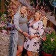 Mulher de Zé Neto, Natália Toscano recebeu amiga  Paula Vaccari em chá de bebê