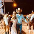 Mulher do cantor Sorocaba, Biah Rodrigues espera um menino, que vai se chamar Theo