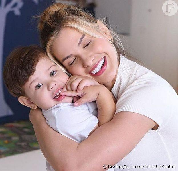 Andressa Suíta mostrou Gabriel, seu filho mais velho com Gusttavo Lima, cantando um hit do pai