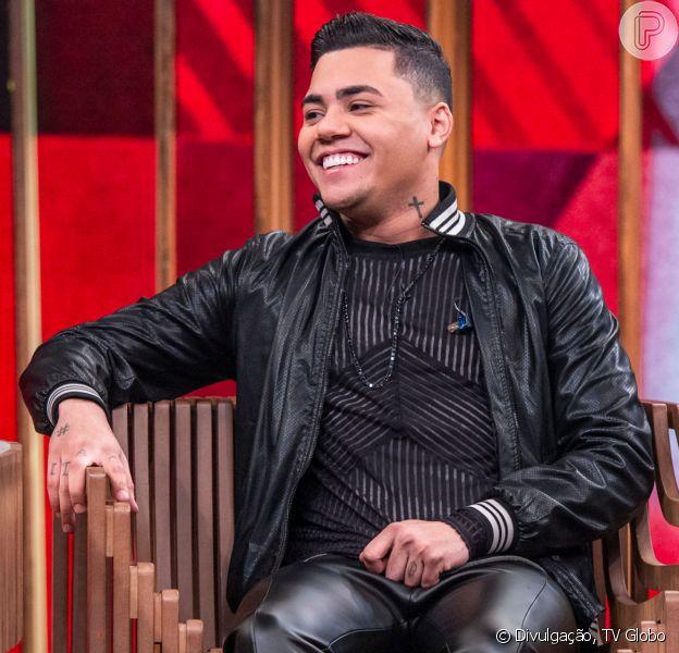 Felipe Araújo participou da festa de aniversário do filho, Miguel, em Vitória (ES), nesta terça-feira, 11 de fevereiro de 2020