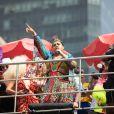 Bloco da Preta arrastou multidão pelas ruas do Centro do RJ