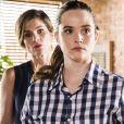 Nos próximos capítulos da novela 'Salve-se Quem Puder', Luna (Juliana Paiva) torna fisioterapeuta de Téo (Felipe Simas) após ser mandada embora por Helena (Flávia Alessandra) do empório