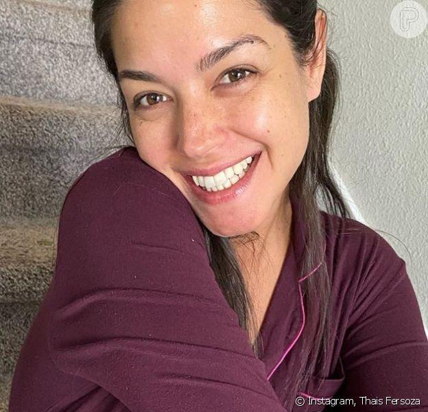 Thais Fersoza faz foto sem maquiagem e entrega que a filha foi responsável pelo clique postado nesta terça-feira, dia 18 de fevereiro de 2020