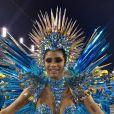 Lexa mostrou resultado da queda que sofreu durante desfile de carnaval nesta terça-feira, 25 de fevereiro de 2020