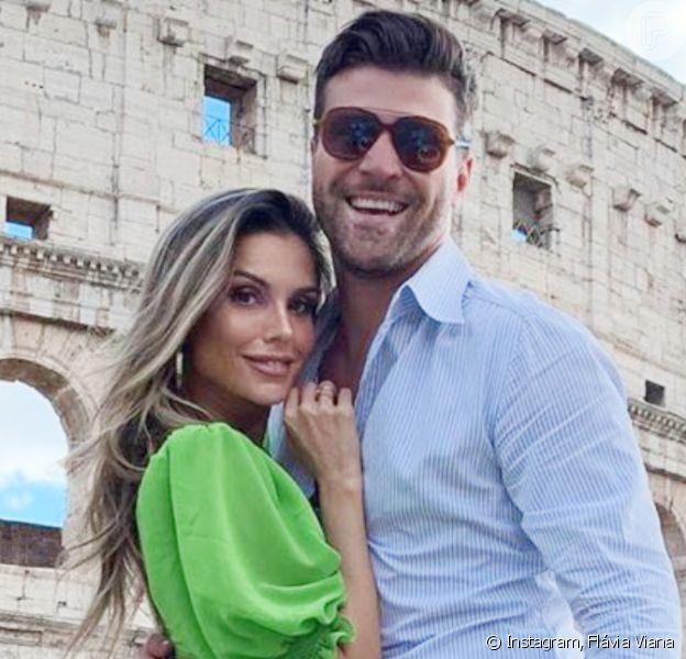 Flávia Viana eMarcelo Zangrandi adiam casamento e marcam nova data para janeiro de 2021