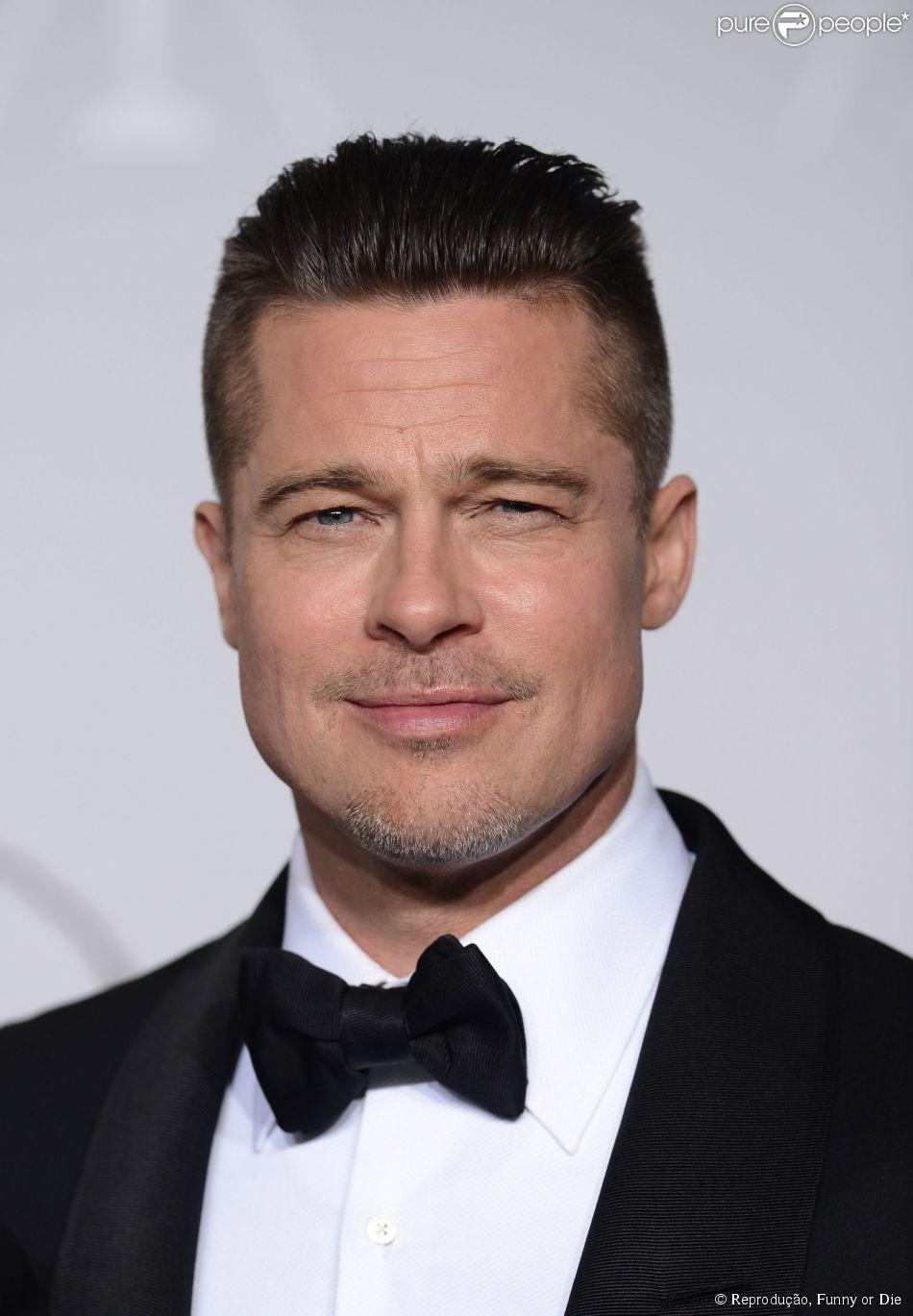 Brad Pitt fica sem graça em programa com pergunta sobre sua ex-mulher, Jennifer Aniston