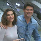 Mariana Goldfarb exibe novo visual em passeio romântico com Cauã Reymond no RJ