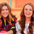 Larissa Manoela celebra amizade com Maisa Silva