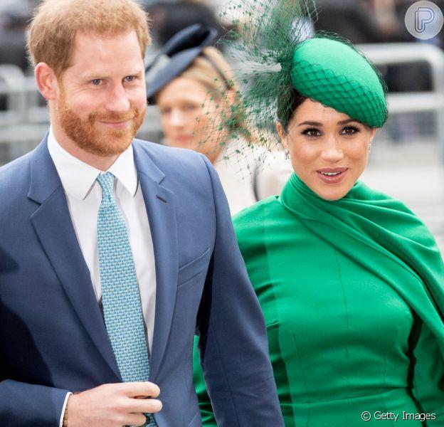 Meghan Markle usa look mocromático verde para 'despedida' da realeza. Confira detalhes nesta segunda-feira, dia 09 de março de 2020