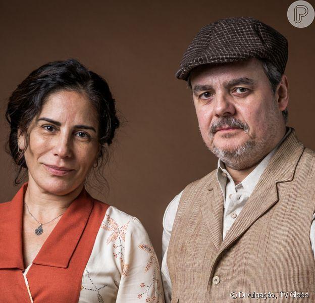 Fim da novela 'Éramos Seis' reserva final feliz para Lola (Gloria Pires) e Afonso (Cássio Gabus Mendes)
