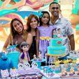 Anitta curte 1º aniversário da sobrinha, Letícia, nesta sexta-feira, dia 13 de março de 2020