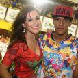 Marcello Melo Jr. e Caroline Alves se conheceram no Carnaval de 2012