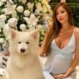 Mulher de Alok, Romana Novais exibe foto do filho com cachorro
