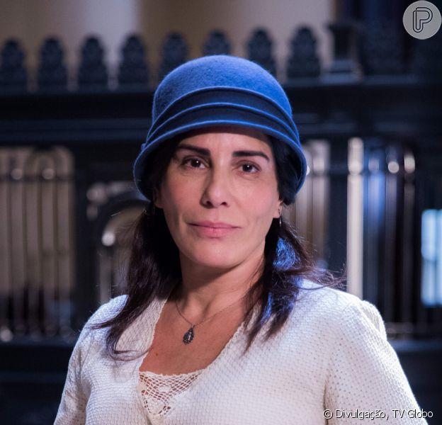 Nos últimos capítulos da novela 'Éramos Seis', casada com Afonso (Cássio Gabus Mendes), Lola (Gloria Pires) se encanta com os netos
