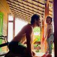 Semelhança entre José Loreto e a filha chamou atenção dos internautas