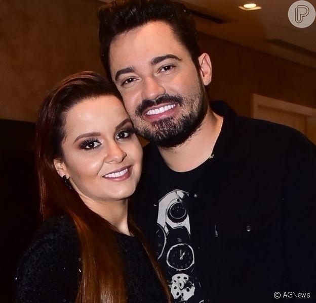 Maiara usa look inusitado ao celebrar 11 meses de namoro com Fernando Zor. Veja foto desta segunda-feira, dia 06 de abril de 2020
