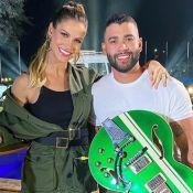 Gusttavo Lima canta com Andressa Suita em vídeo e voz diverte modelo. Saiba!