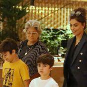 Juliana Paes comemora à distância aniversário da mãe: 'Queria dar abraço'