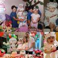 Thaeme Mariôto se dedicou à festa de aniversário da filha, Liz