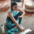 Baixe um aplicativo de exercício em casa