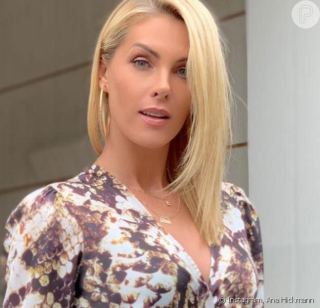 Ana Hickmann afasta 2ª gravidez em vídeo!