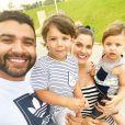 Andressa Suita destaca mudança relação com Gusttavo Lima após filhos