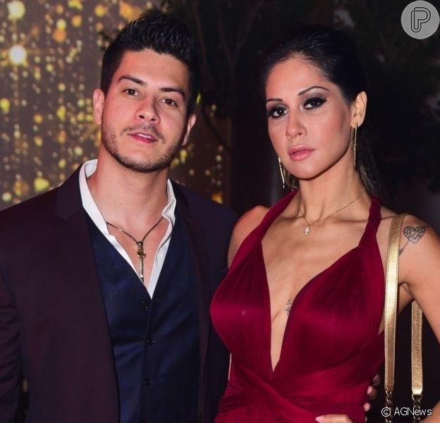 Mayra Cardi abriu o jogo sobre fim do casamento com Arthur Aguiar