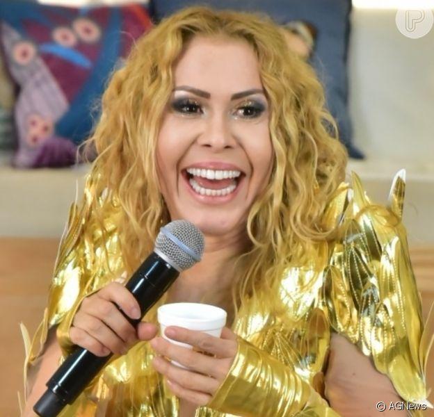Joelma faz segunda live show em sua mansão emAlphaville, São Paulo, na noite desta quarta-feira, 27 de maio de 2020