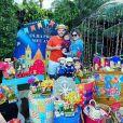 Filho de Marília Mendonça completou 6 meses e ganhou festa temática da mãe