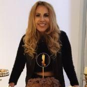 Joelma festeja 46 anos com comida paraense e performance no 'parabéns'. Vídeo!