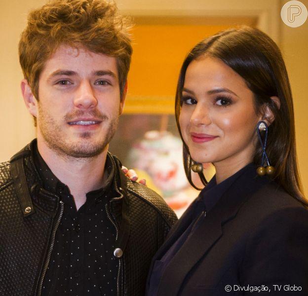 Bruna Marquezine recorda revelação de namoro com Maurício Destri na TV: 'Fiquei p. da vida'
