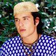 Sérgio Marone  o místico e misterioso Santiago, também foi destaque na novela 'Estrela--Guia' e viveu par romântico de Thais Fersoza