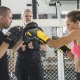 No final da novela 'A Força do Querer', Jeiza (Paolla Oliveira) vence campeonato de MMA